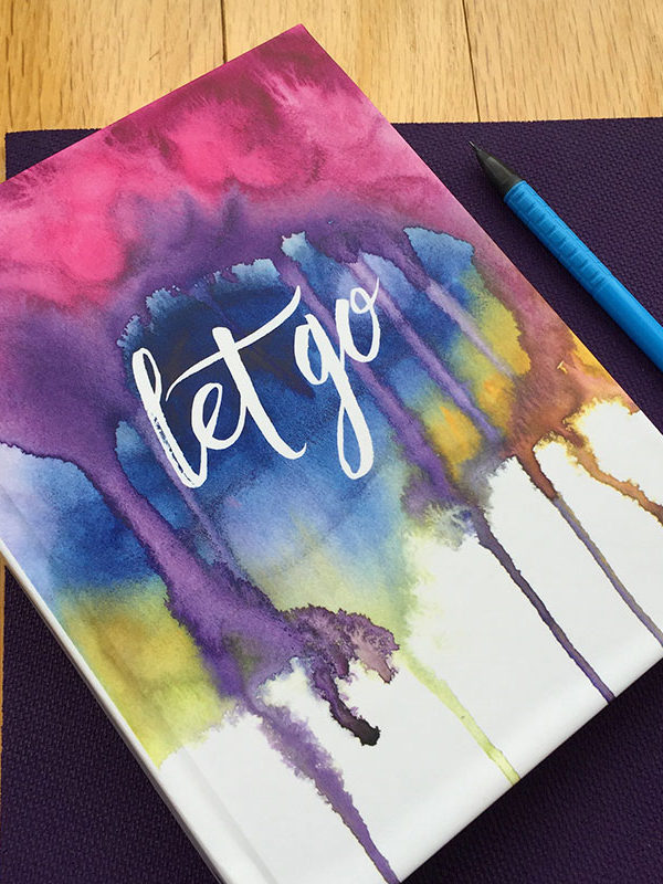 Let Go Journal by Hand-Painted Yoga