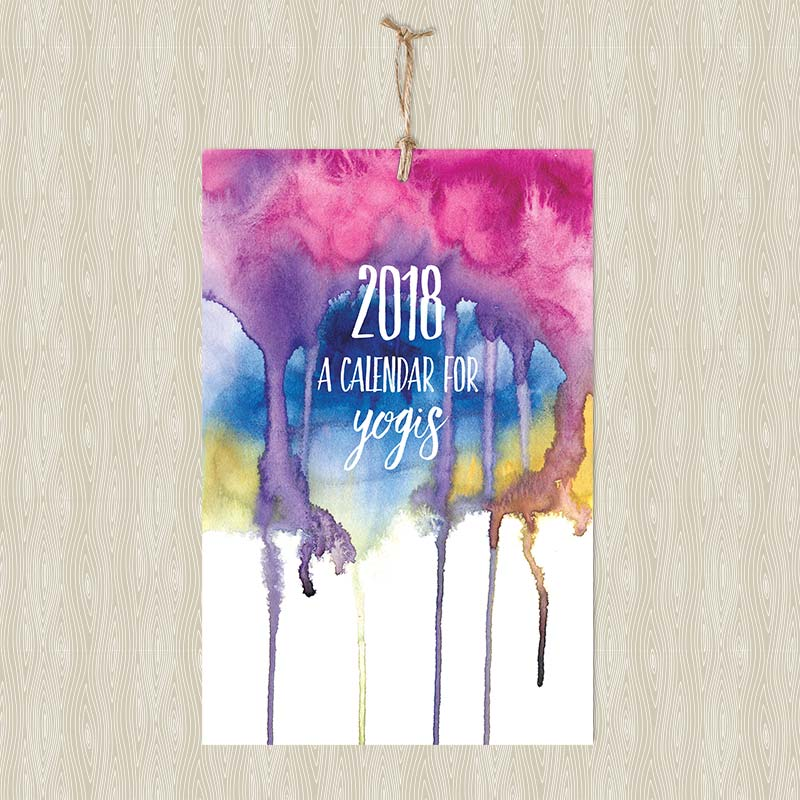 Calendar Cover 2018 : Calendars archives hand painted yoga