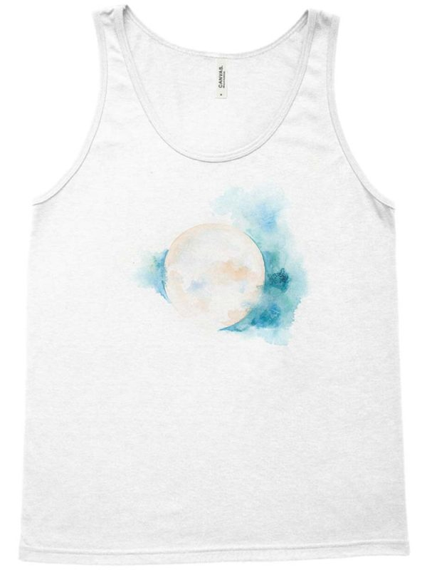 Sacred Moon Tank Top by Hand-Painted Yoga